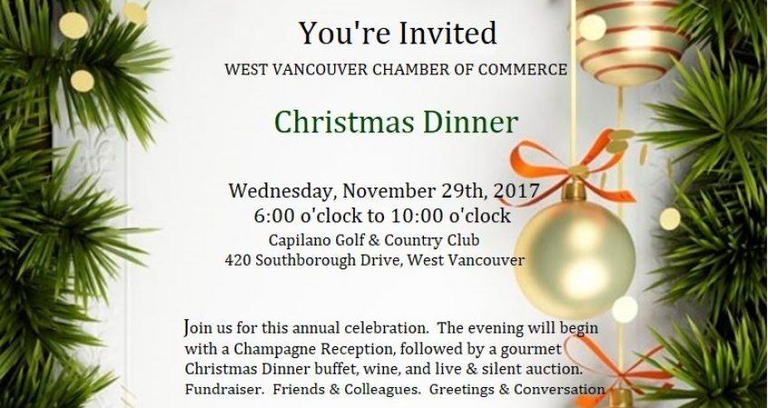 Christmas Dinner Vancouver 2017 Christmas 2017